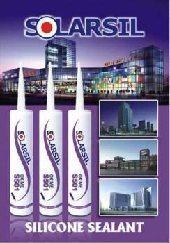 Keo dán Silicone Hàn Quốc Solarsil Sealant Oxime S501