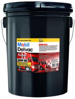 Dầu động cơ xăng và diesel chịu tải nặng MOBIL DELVAC SUPER 20W-50