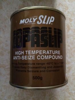 High Temperature Anti Seize Compound MOLYSLIP COPASLIP