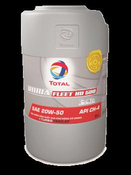 Dầu nhớt động cơ diesel Total Rubia Fleet HD 500 20W-50