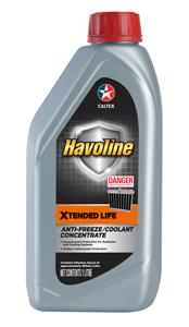 Nước làm mát pha sẵn Caltex Havoline Xtended Life Coolant - Concentrate