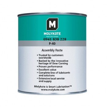 Specialty Lubricants Molykote P-40 Metal-Free Adhesive Lubricating Paste