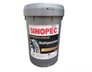 Mỡ nhờn Sinopec Lithium đa dụng NLGI 3
