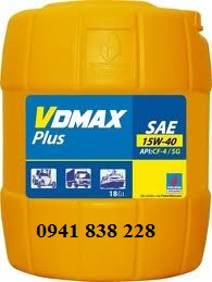 Dầu nhớt động cơ DIESEL PV VDMAX Plus