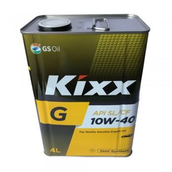 Dầu nhớt động cơ xăng Kixx G 10W-40 API SL-CF