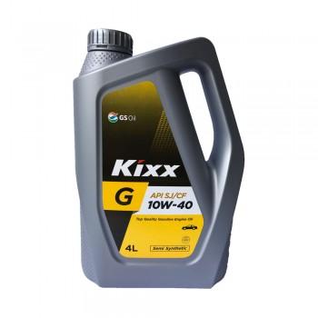 Dầu nhớt động cơ xăng Kixx G 10W-40 API SJ-CF